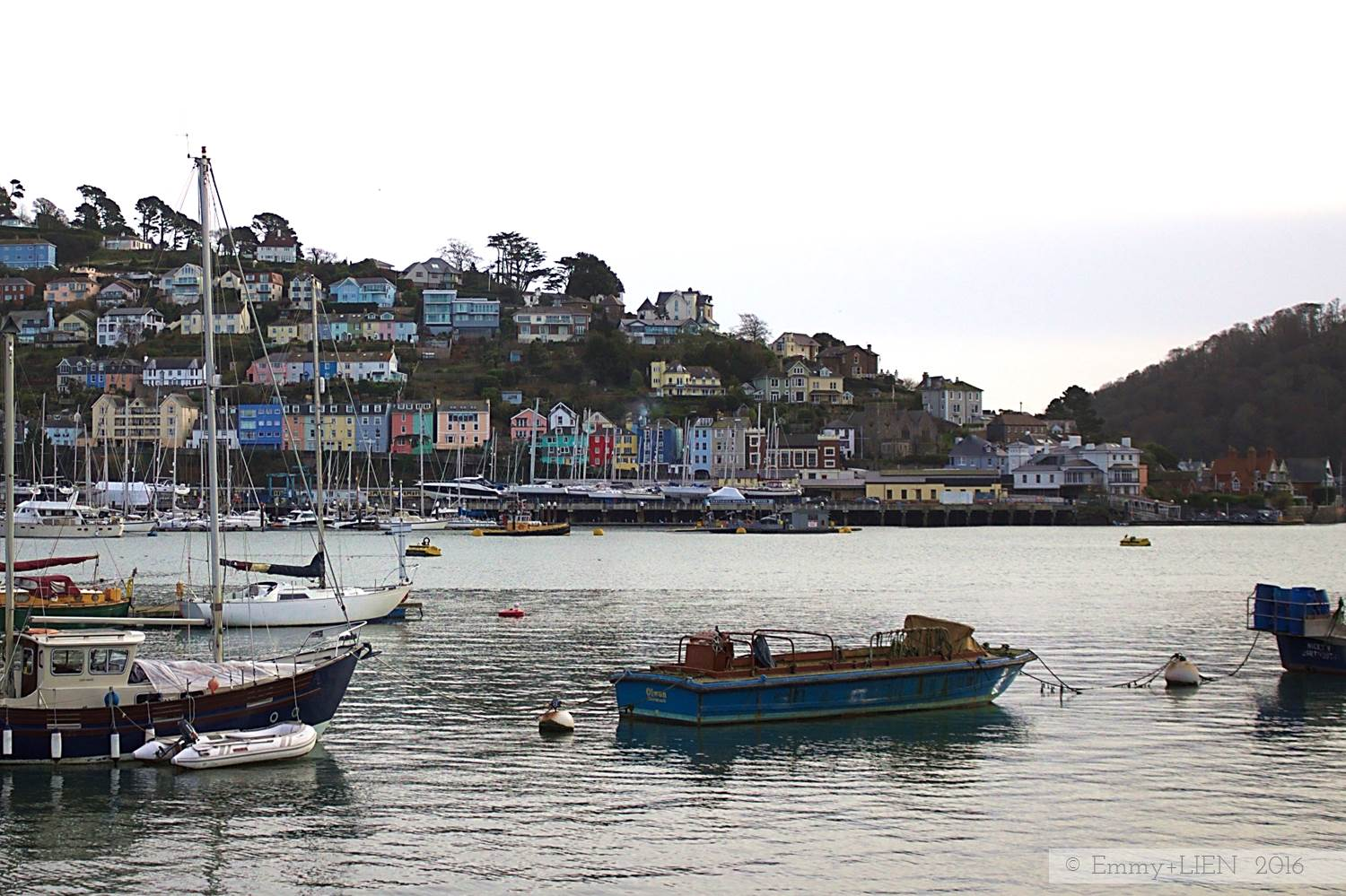 Dartmouth in Devon, UK