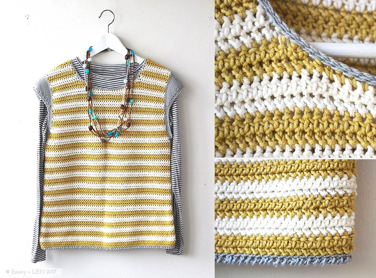 Bretonbone Top | a crochet pattern