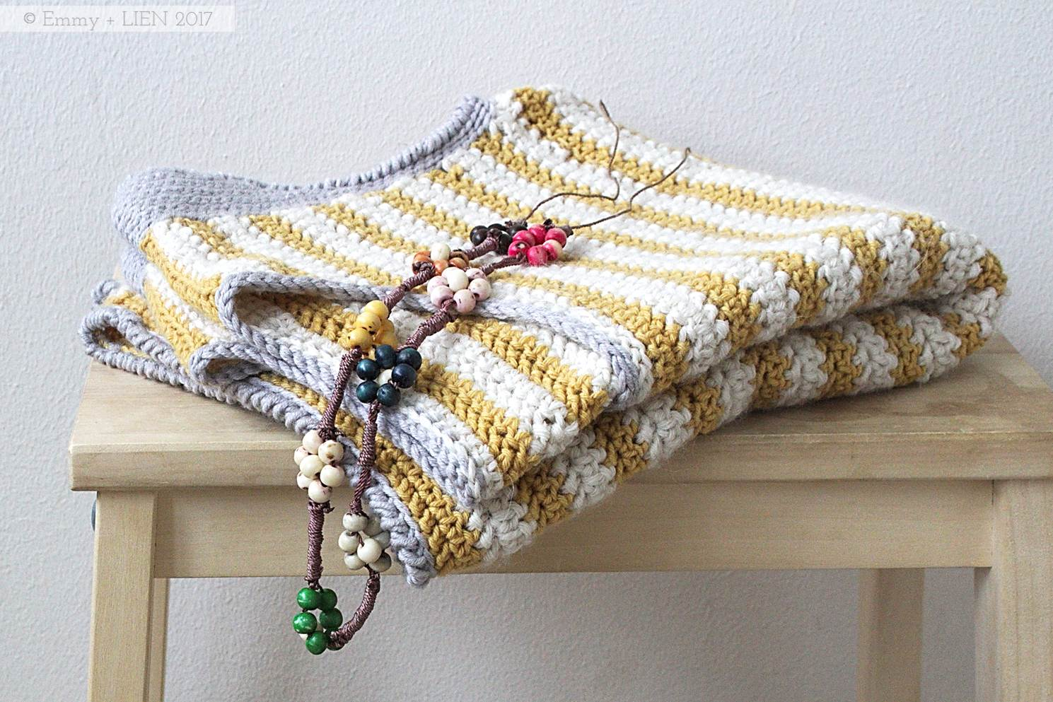 Bretonbone Top | a  crochet pattern by Emmy + LIEN