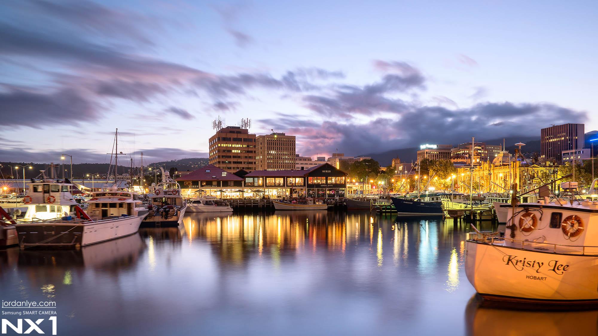 Dusk in Hobart
