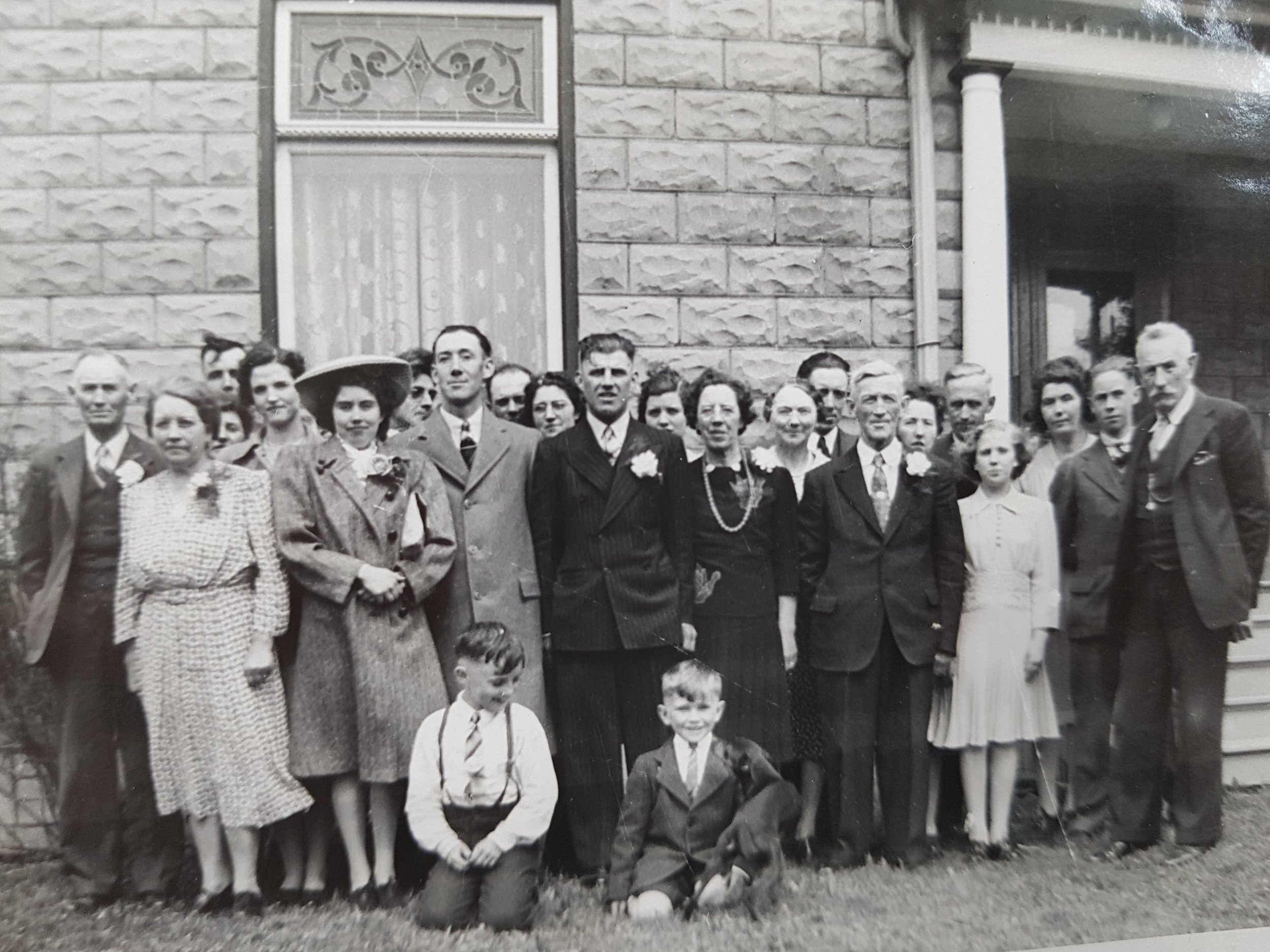 Verna & Bill Wedding clan.jpg