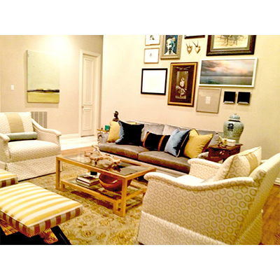 AFTER | Formal Living Traditional Staging
