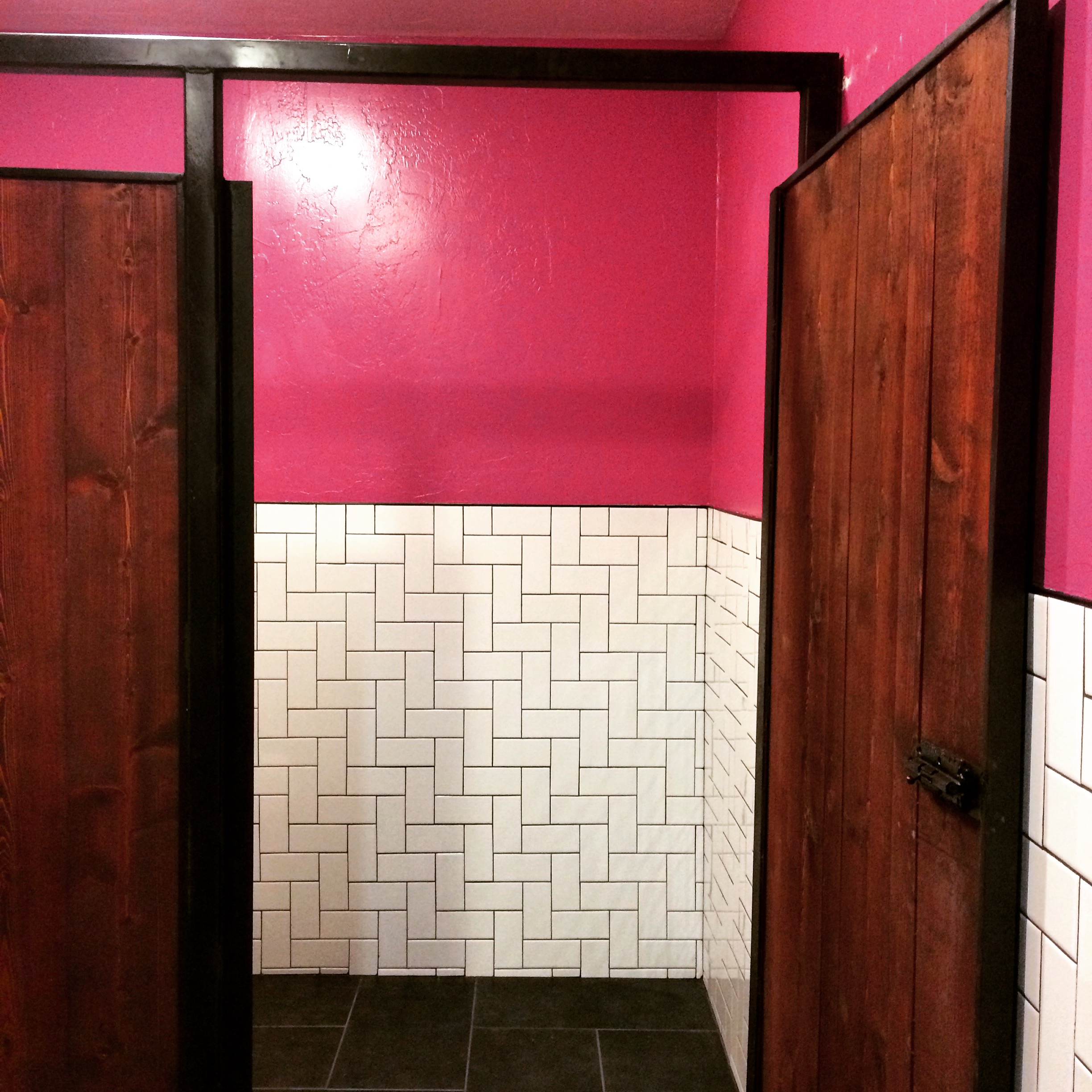 AFTER | The Nodding Donkey | Women's Restroom