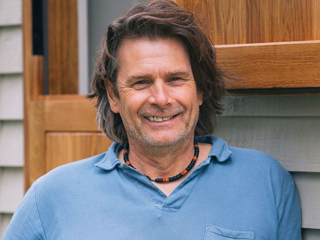 Paul bennett, founder of red sky shepherds huts Oxfordshire