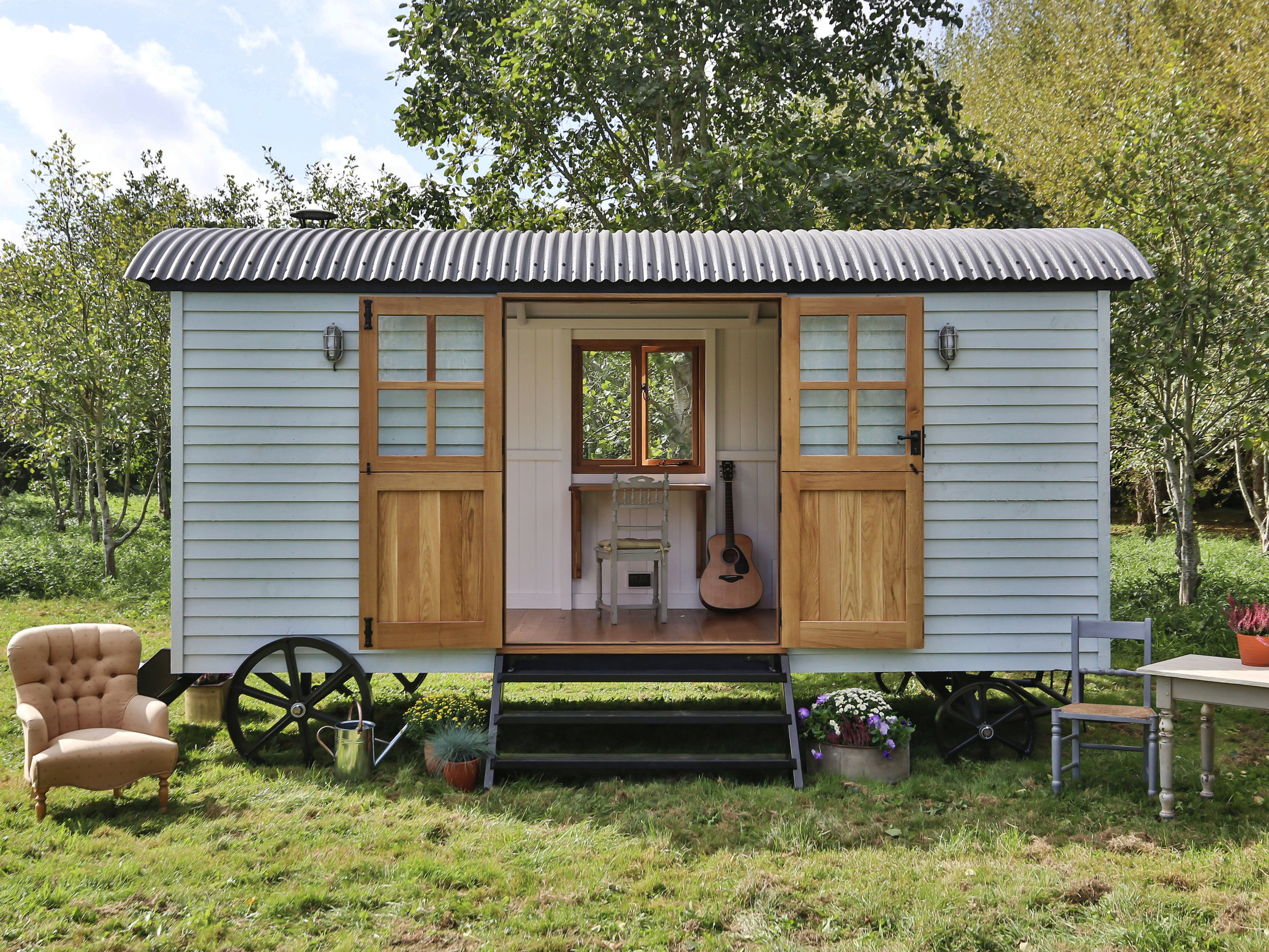 shepherds huts stable doors