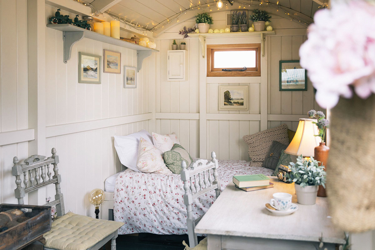 Hand crafted shepherds huts in oxfordshire