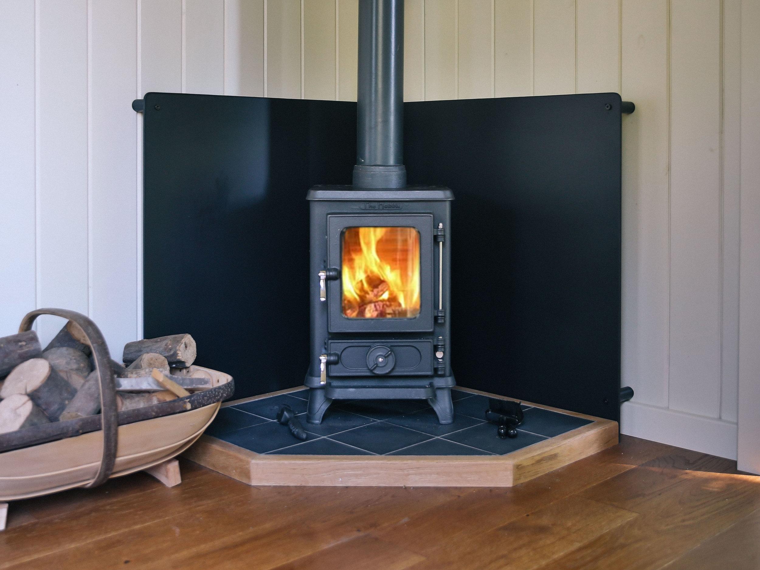 shepherds hut wood burning stoves