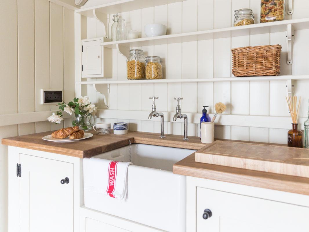 shepherds hut bespoke hand built kitchenettes
