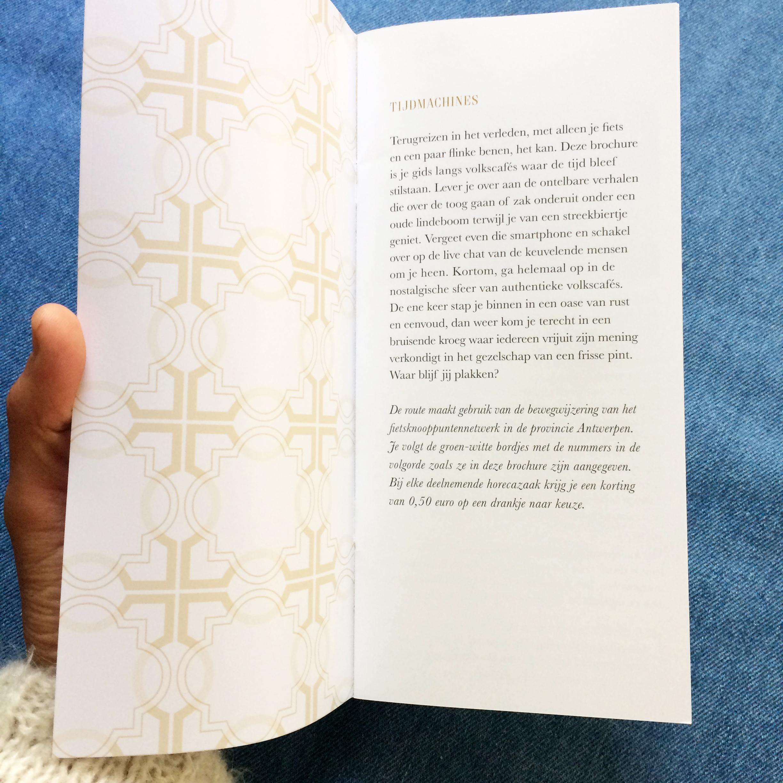 Inleidende pagina  brochures Kempens Karakter