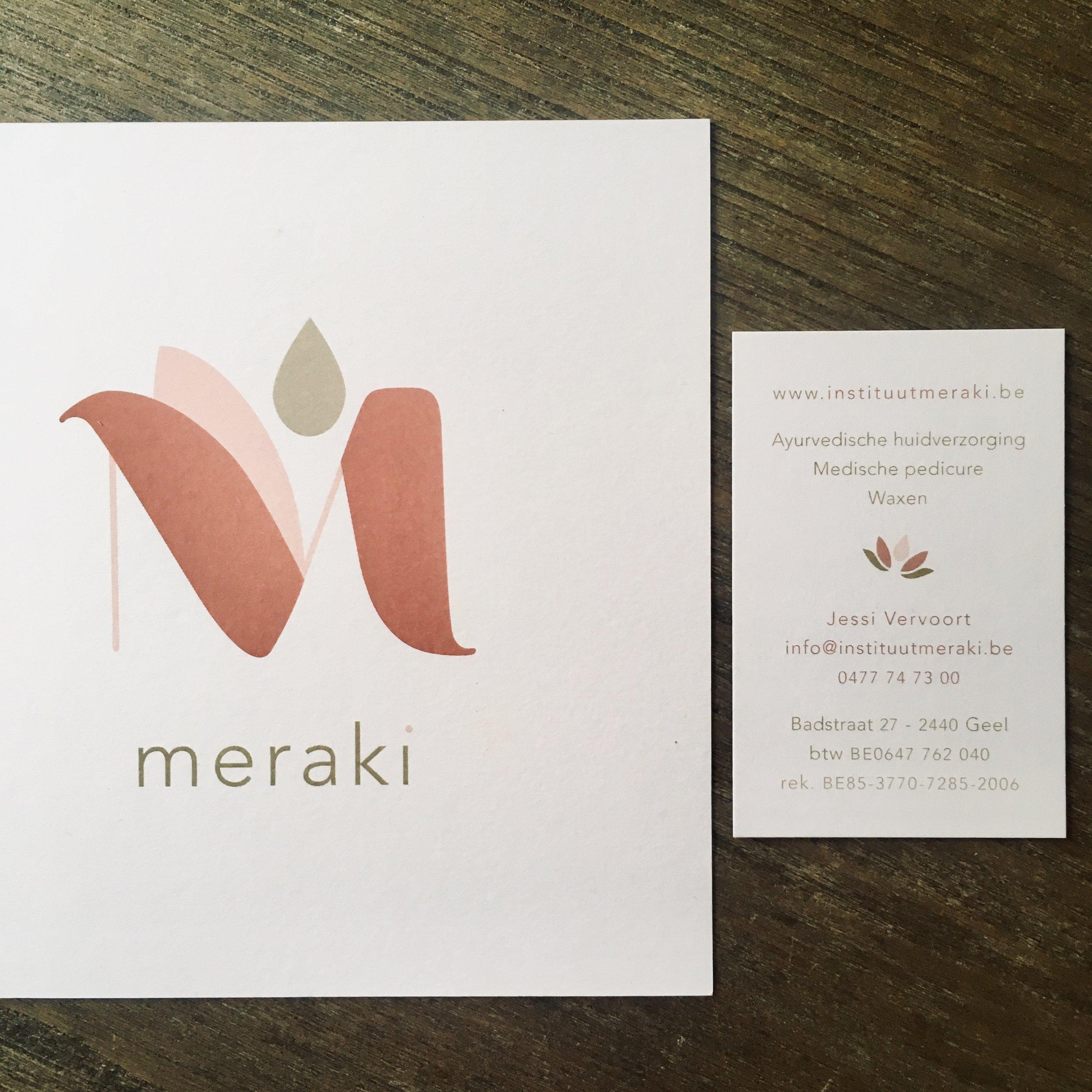 Huisstijl Meraki