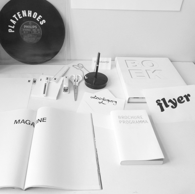 stap 5: opvolging - Ik zal je verder begeleiden in de concrete uitwerking van je ontwerp(en). Ook de communicatie met een drukkerij wordt verder mee opgevolgd.