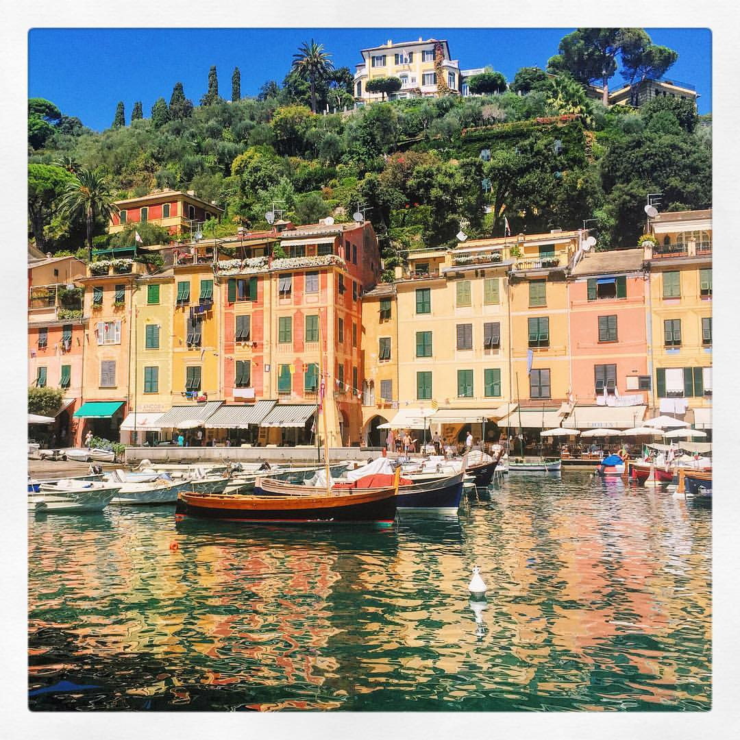 """""""It is better to see something once than hear about it a thousand times."""" - Asian proverb  (at Marina Di Portofino)"""