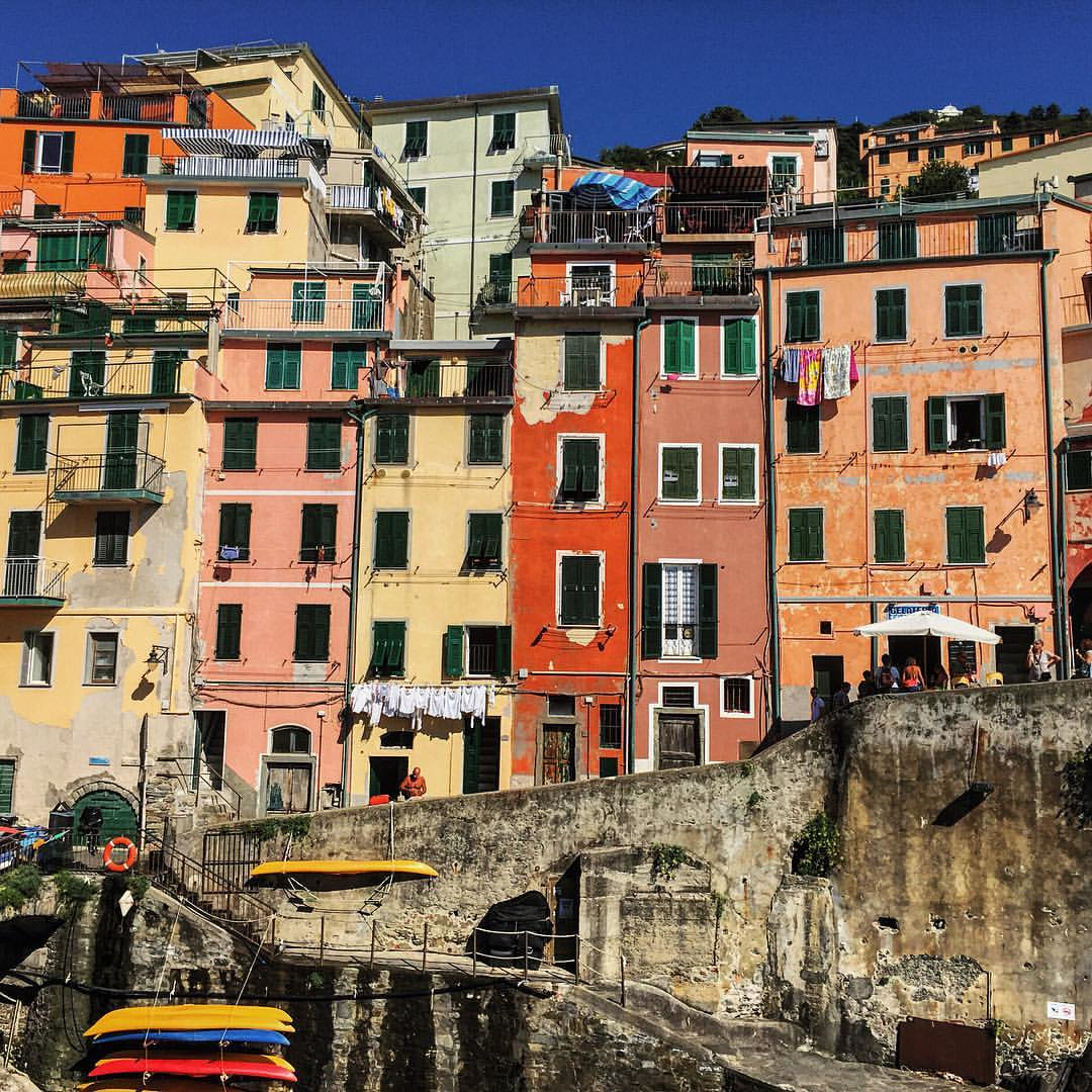 All the colours of Cinque  (at Riomaggoire, Italy)