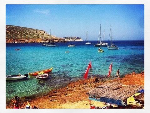 🔜 Back to Beefa #TBT #EGD30  (at Cala Conte - Ibiza)