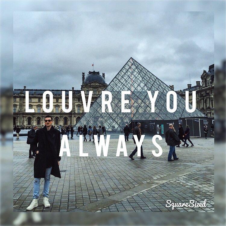 To Paris, with love. Happy #bastilleday #TBT (at Musée du Louvre)