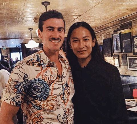 Rarely is it ever acceptable to post a pic of Wang, but in this instance, I think there's an exception @alexanderwangny #Legend #TGIF  (at London Mayfair)
