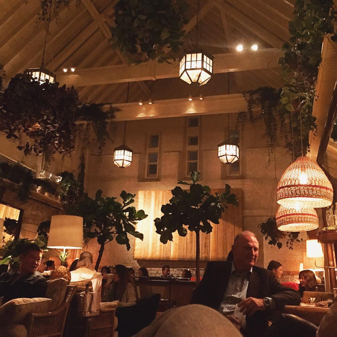And on Sundays, we Chill(tern) (at Chiltern Firehouse)