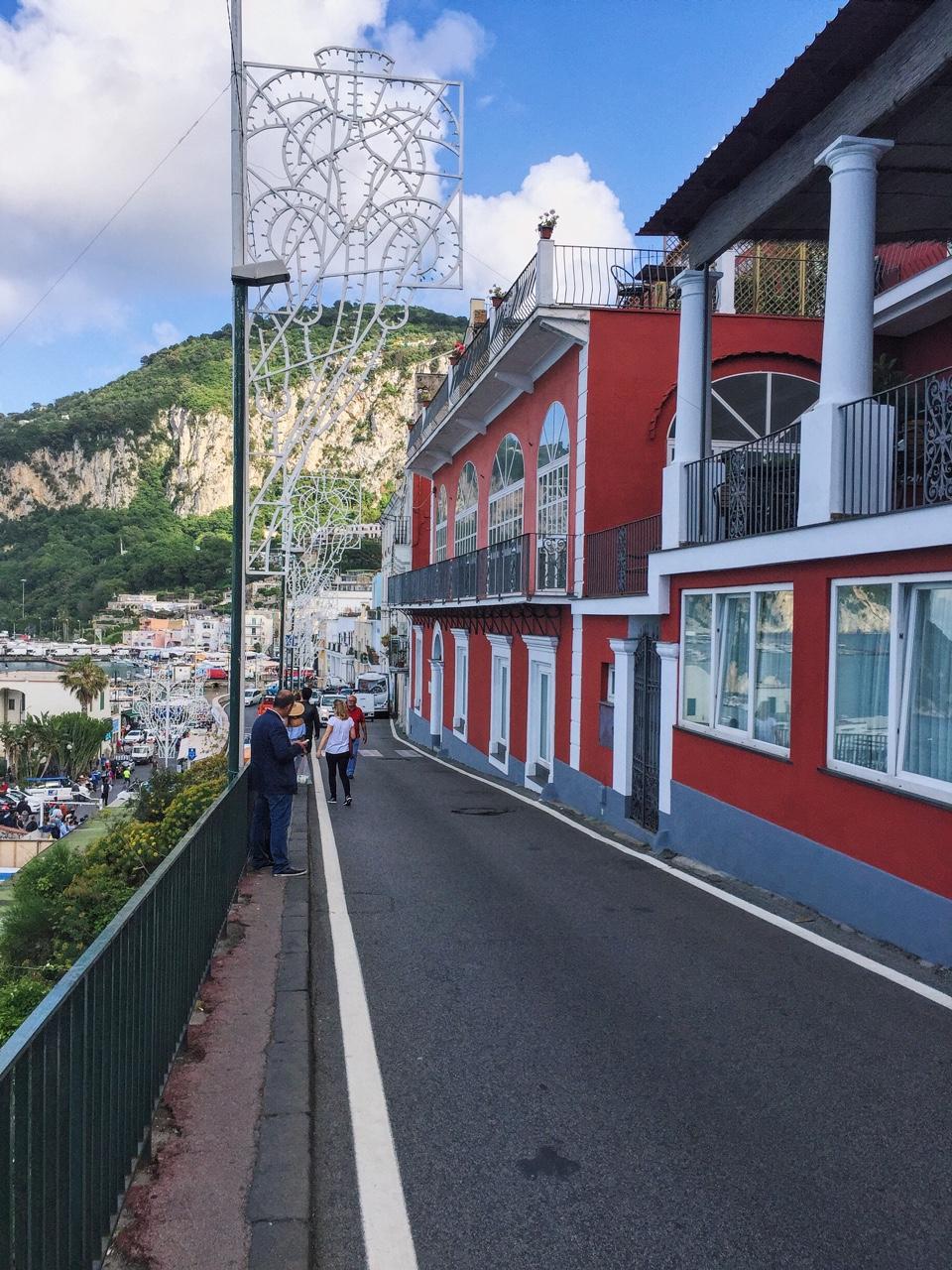 All the colours in Capri