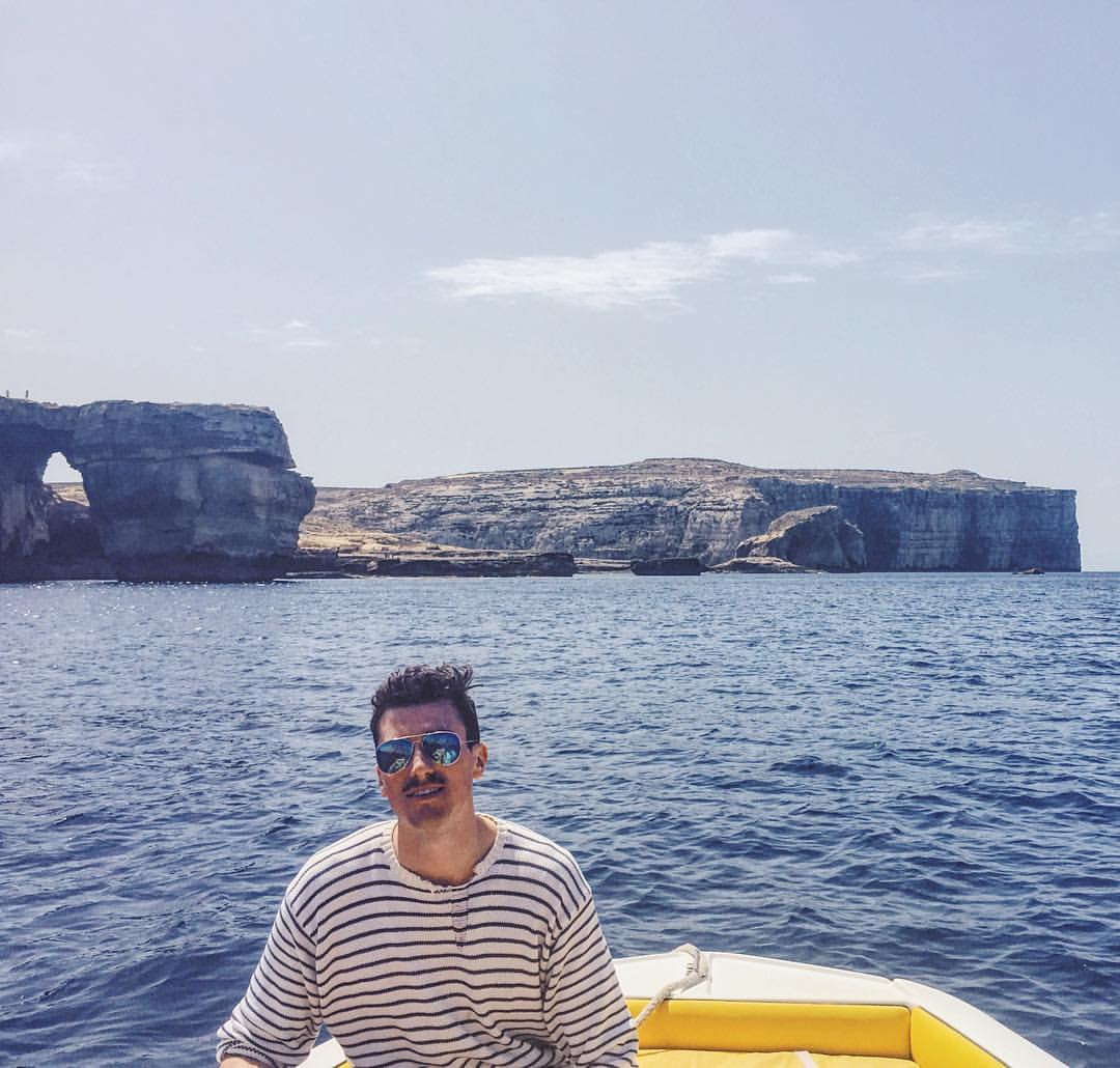 Right here, right now please. #TBT #malta  (at Azure Window)