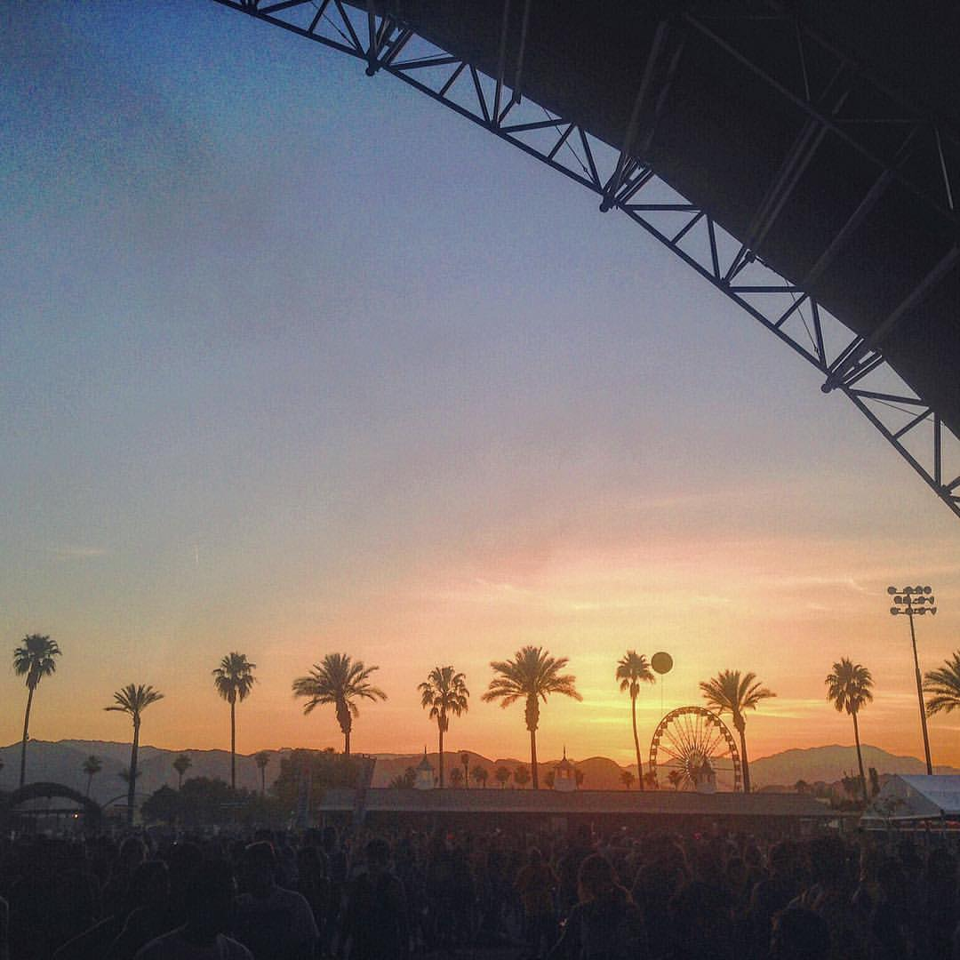 My Chella chalice overfloweth with envy for all the lucky boys and girls getting to experience this magical weekend. See you next year Indio for another dance in the desert. ✨🌞✨ #Coachella #FBF  (at Coachella 2016)
