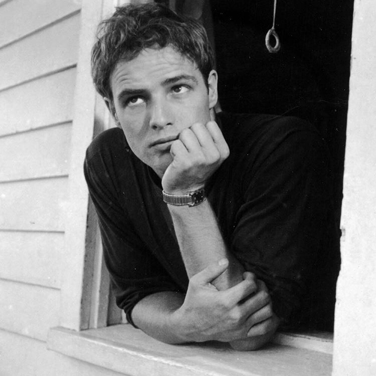 life :     Marlon Brando was born today, April 3, 1924 in Omaha, Nebraska. Pictured here in 1951 leaning out of his parents window. (Art Shay—The LIFE Images Collection/Getty Images) #LIFElegends