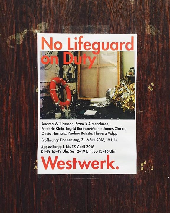 """Achtung art aficionados: join me this weekend in Hamburg for """"No Lifeguard on Duty"""", a contemporary collective from some of Europe's top emerging artists, including my dear friend Pauline Batista."""