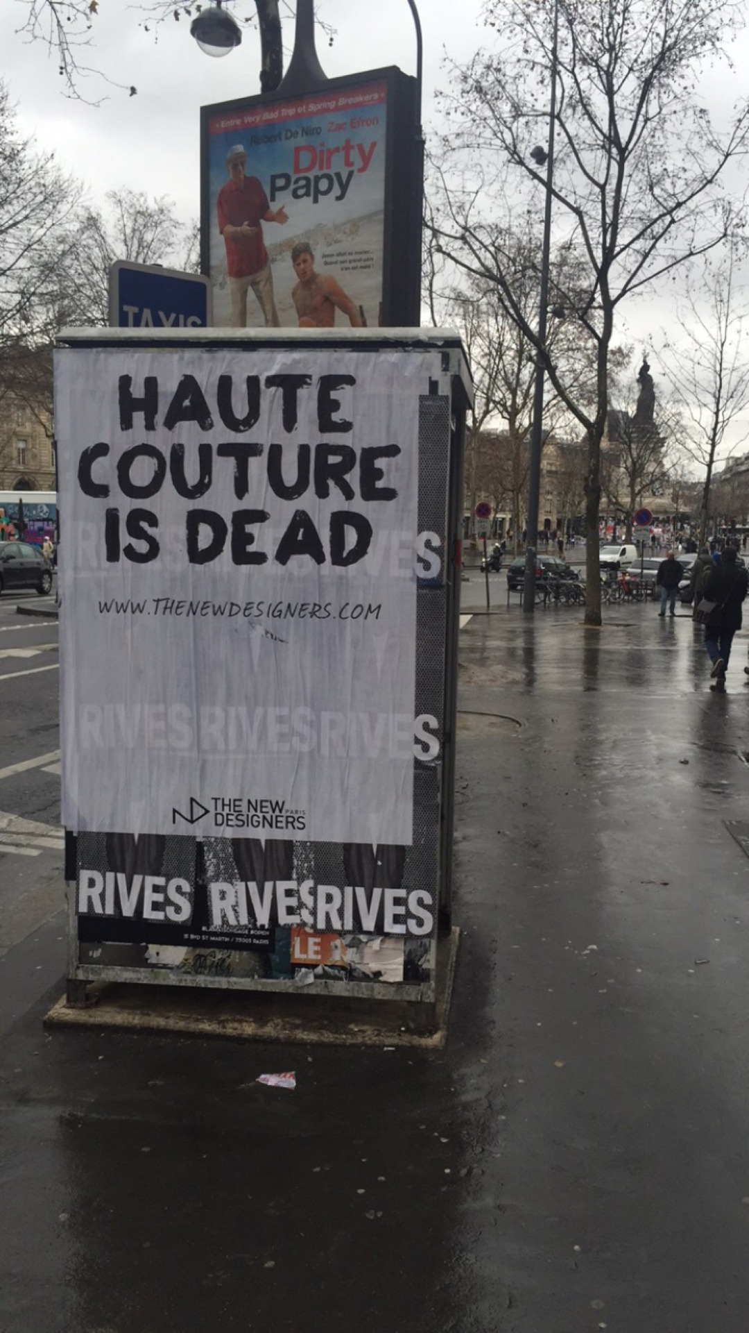 HAUTE COUTURE IS DEAD
