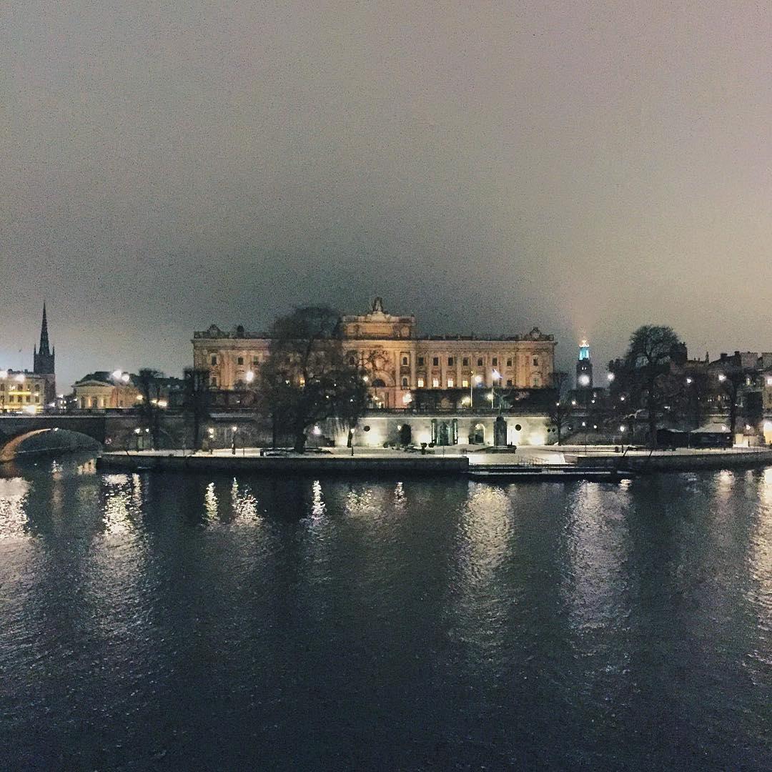 I can't feel my face when I'm with you, but I 💙 it 🇸🇪 #Stockholm  (at Gamla Stan (Stockholm's Old Town))
