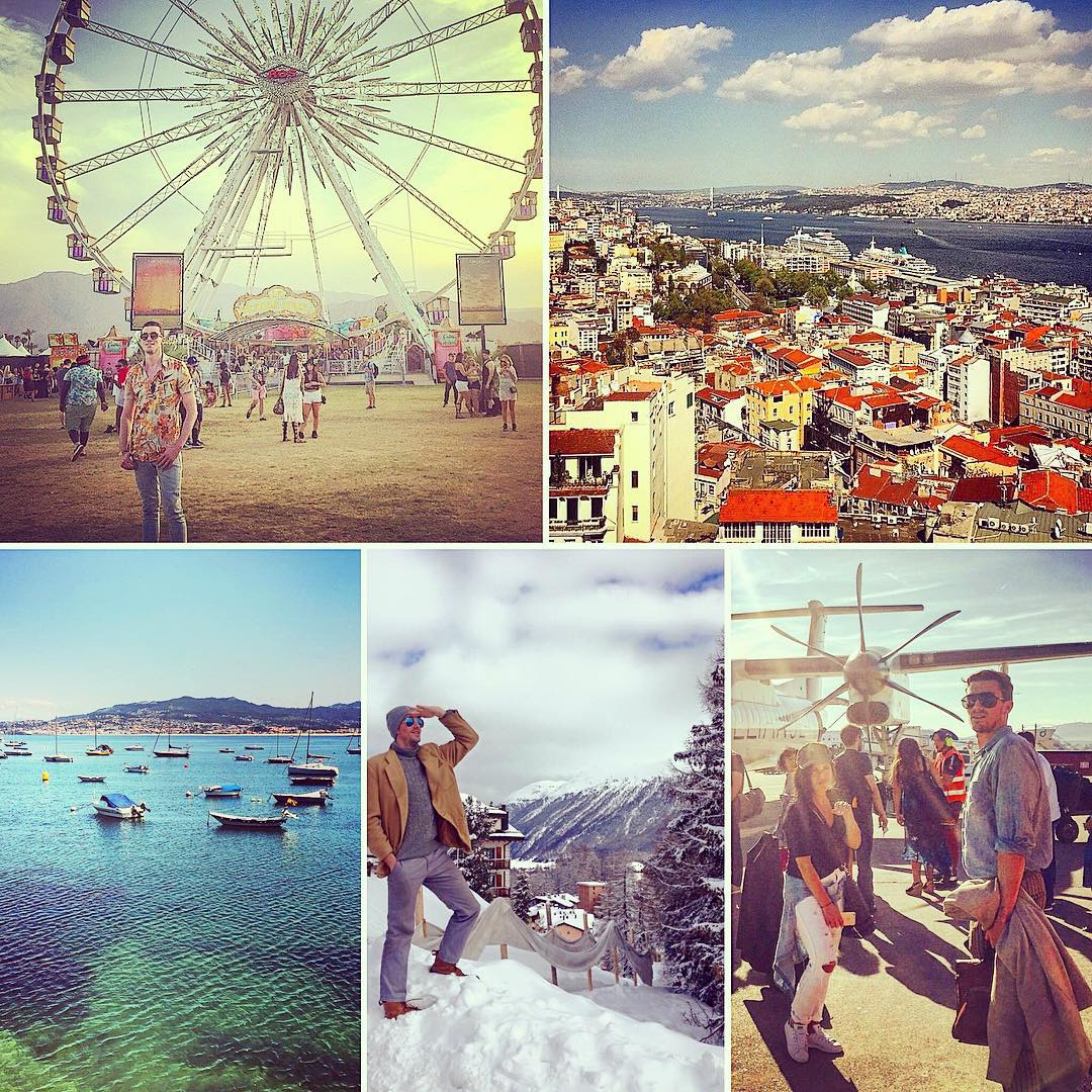 I find it more than ironic that, on the last #TravelTuesday of the year, I'm typing this from an airport. From Indio to Istanbul, Como to Coachella, Glasto to Galicia, 2015 was incredibly fulfilling because of the places and faces I got to experience every step of the way. Onward and upward back to London, and looking forward to seeing what new destinations and moments 2016 has in store.  (at Charlotte Douglas International Airport)