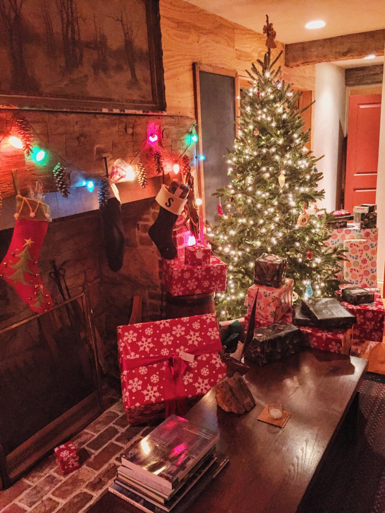 Santa done real good.