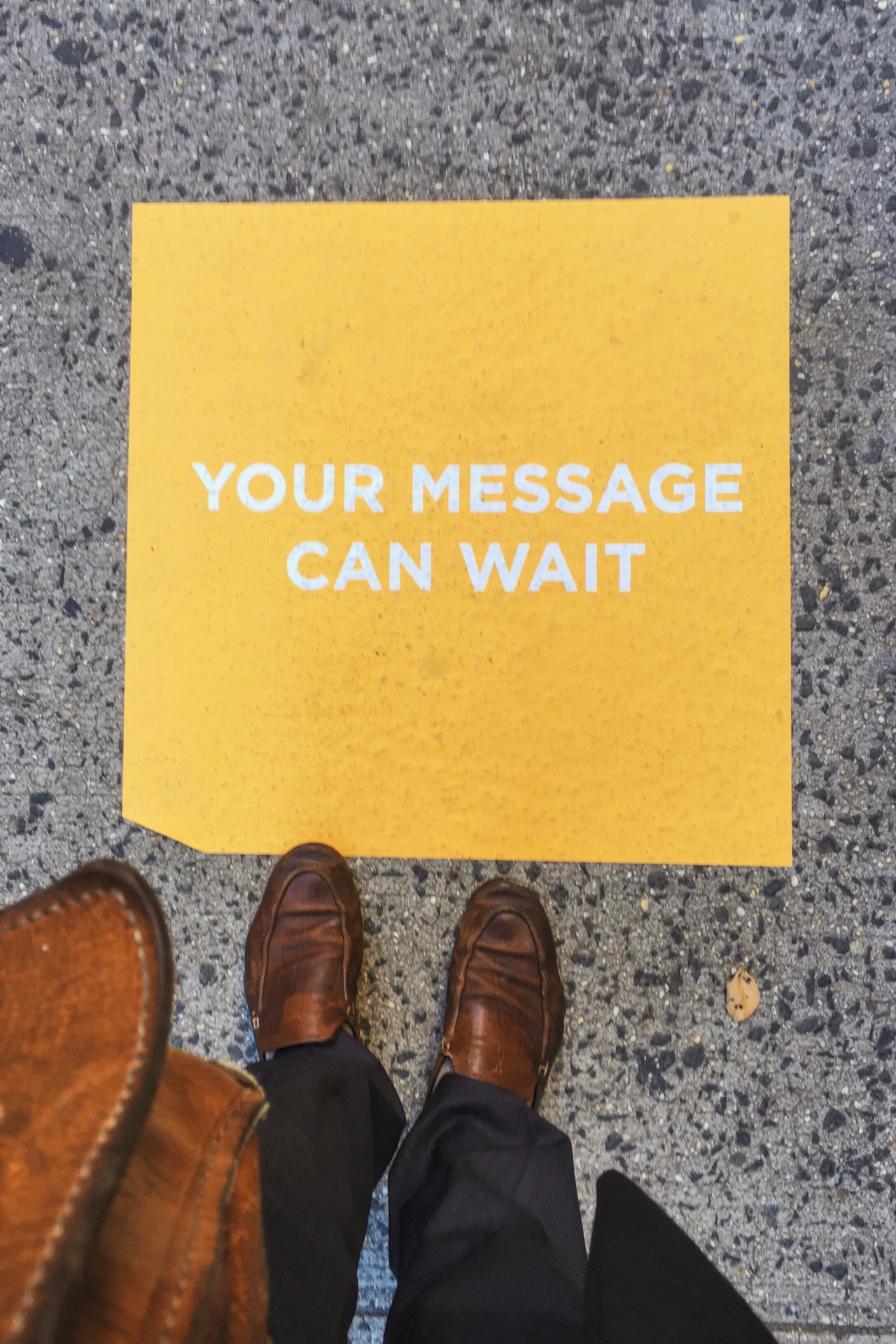 Your message can wait