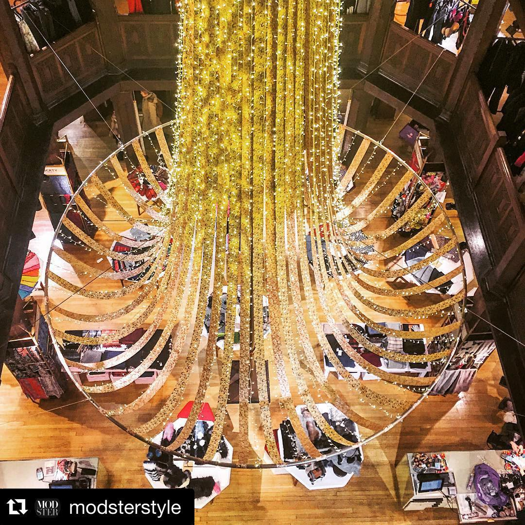 #Repost @modsterstyle   ・・・  If shopping @libertylondon during the holiday season doesn't get you in a festive mood, then you may have a heart of coal. 😍🎅🏼🇬🇧 #London #MODSTER #holidays #shopping #Christmas2015 (at Liberty London)