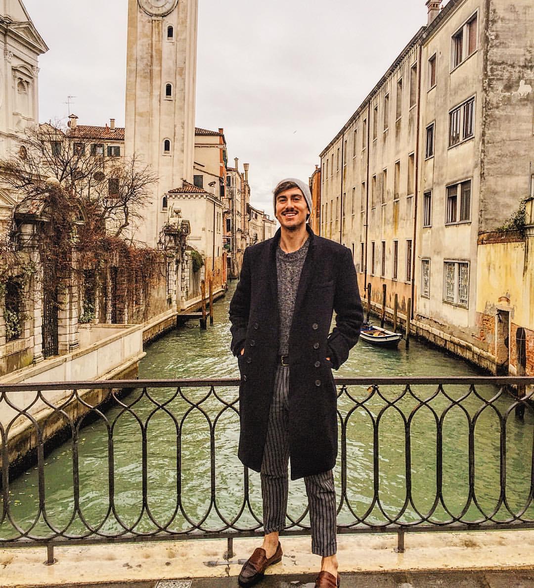 Definitely could start my gondola business rocking this look #Venice #stache  (at San Giorgio dei Greci)