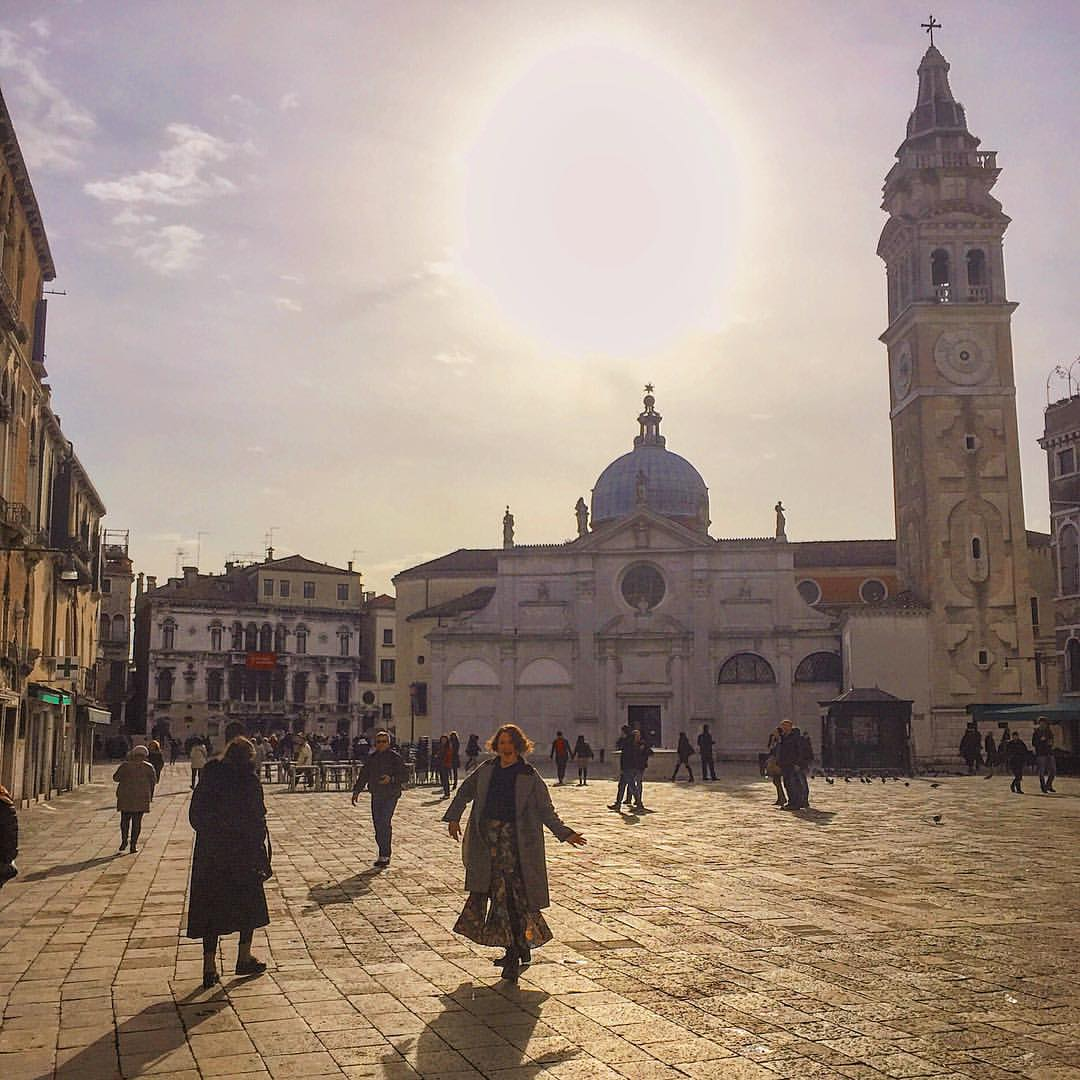 Sun soaked Sunday #Venice #Venezia  (at Teatro La Fenice)