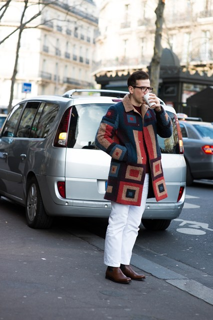 In winter, it's all about your coat game #Oui #PFW #style