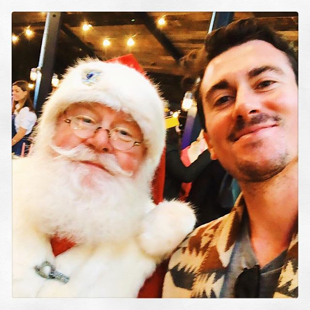 He also agreed to finally take me off the naughty list #santaselfie #hohoho