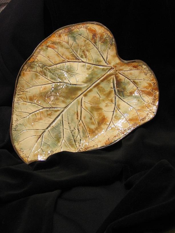 Stoneware Leaf platter.jpg