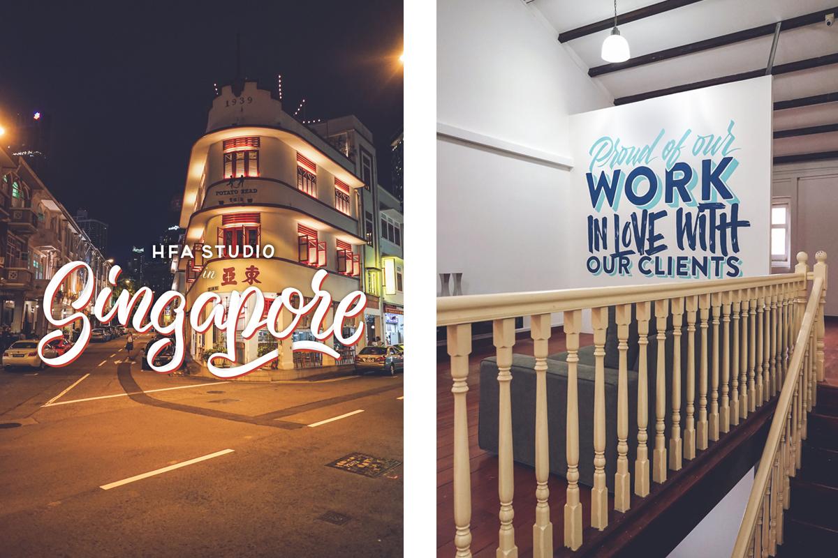 HFA Studio Singapore Lettering
