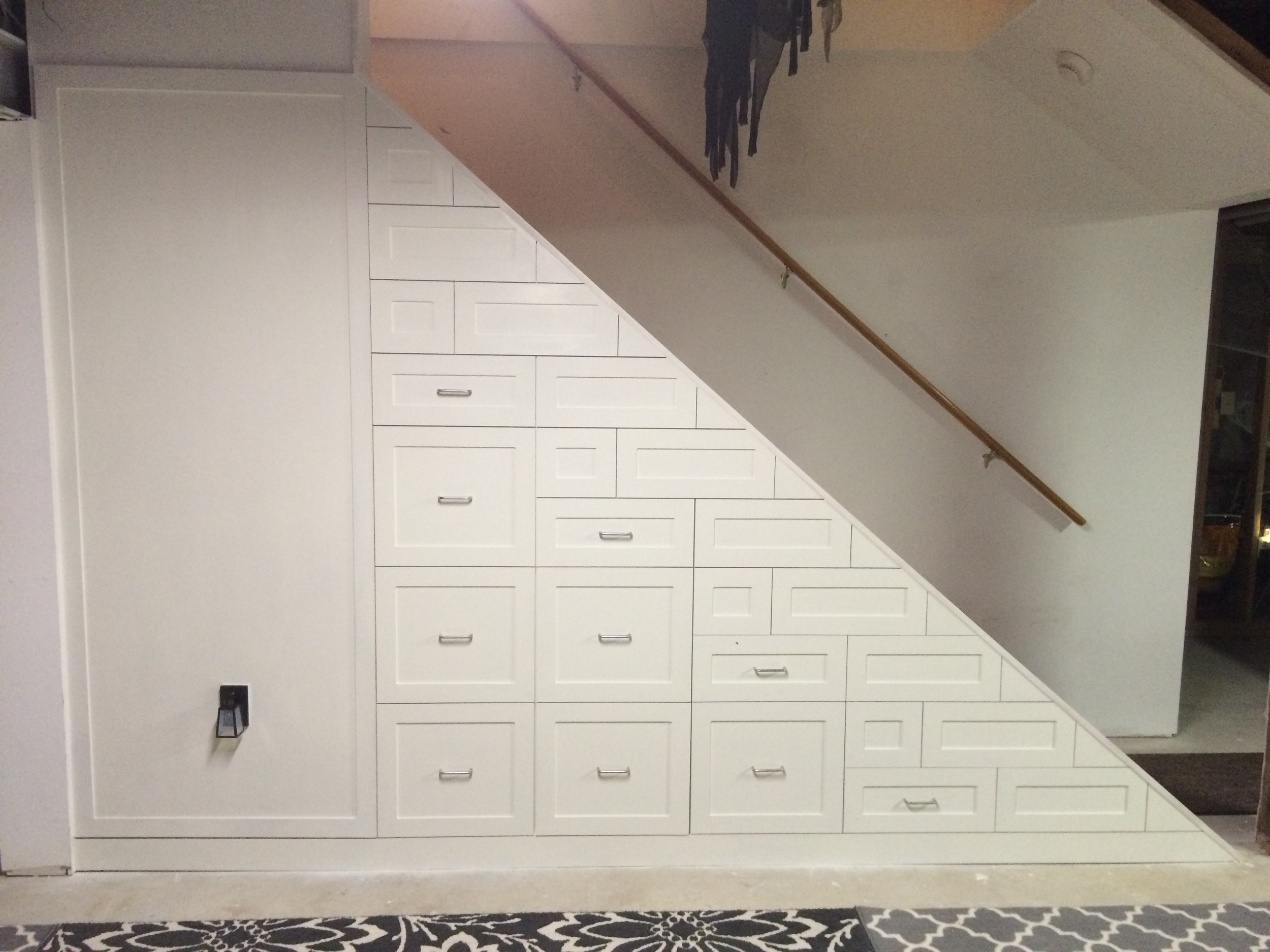 Custom Under The Stairs Storage