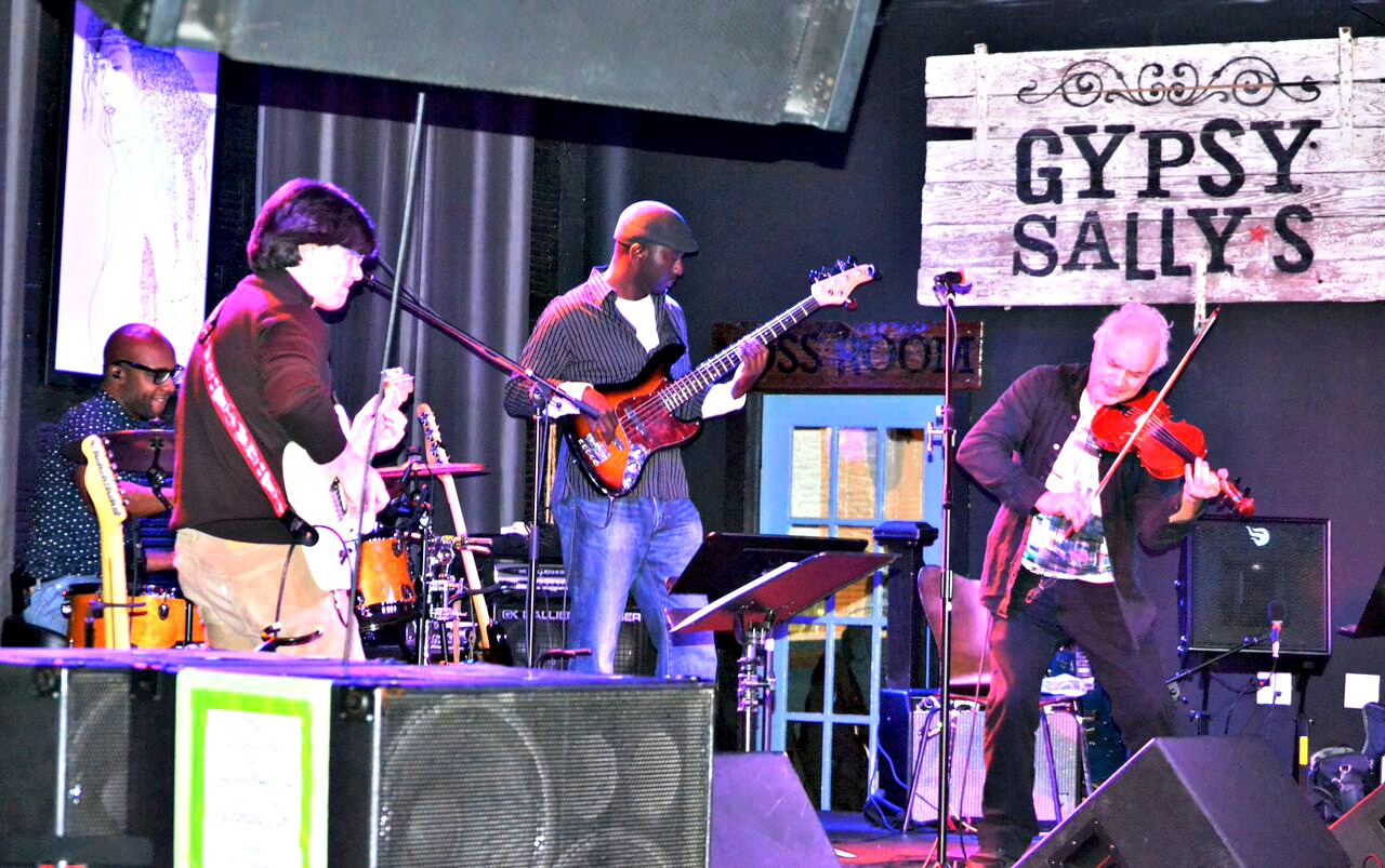 The Dave Kline Band at Gypsy Sally's on the Main Stage