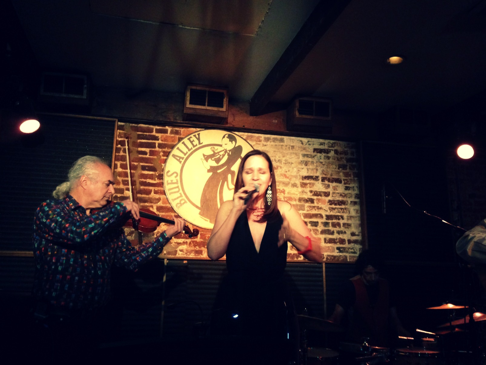 Lynn Verroneau and Dave Kline at Blues Alley