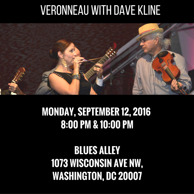 veronneau dave kline blues alley