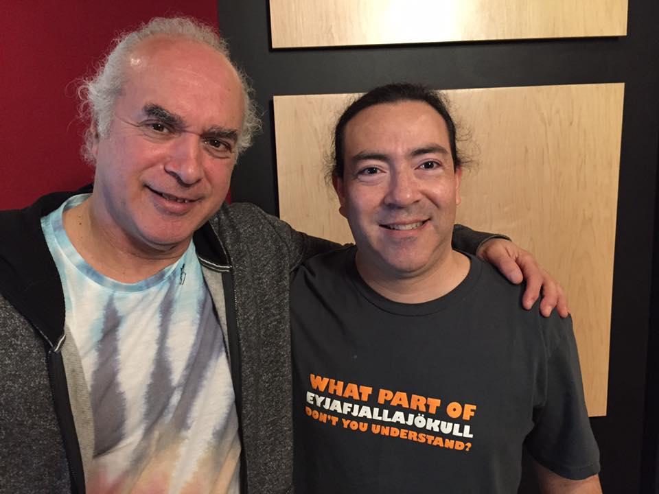 Dave Kline with joined WERA Producer Antonio Villaronga