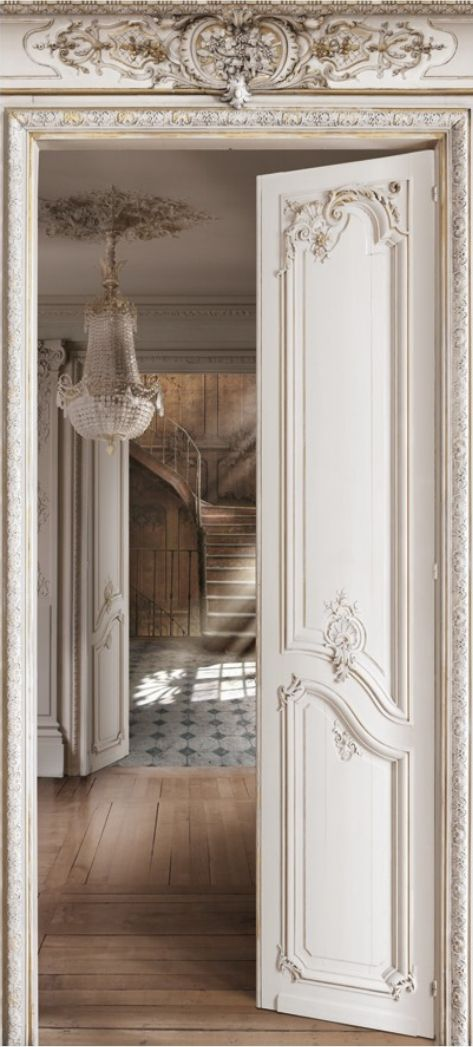 (Silence.) Just look at the detail of this millwork. Breathtakingly beautiful. (Photo: koziel.fr)
