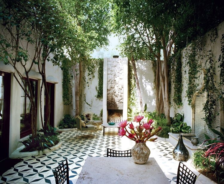 Vogue Magazine, From the Archives: The Beauty of Tile in  Vogue Homes. Photographed by François Halard,  Vogue , May 2013