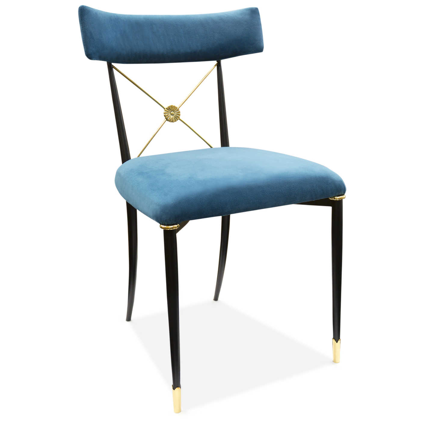 $895 Jonathan Adler - Rider Dining Chair (above)
