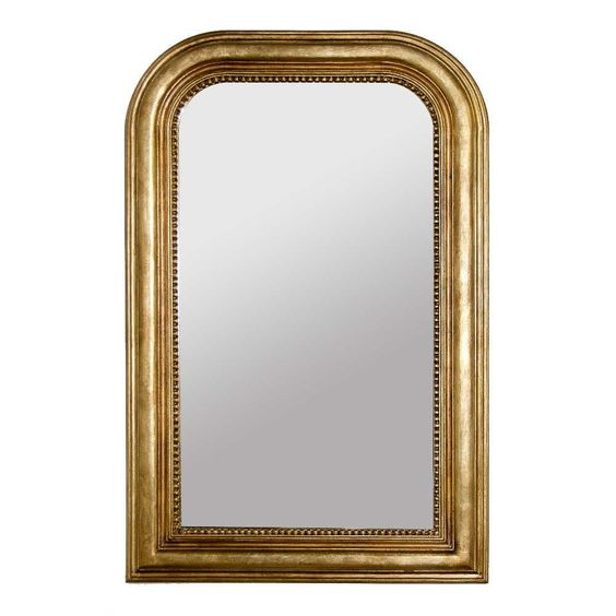 $870.49 - World's Away - Waverly Gold Mirror (above)