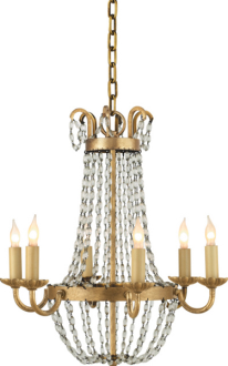 Petite Paris Flea Market Chandelier by Visual Comfort (contact to order)