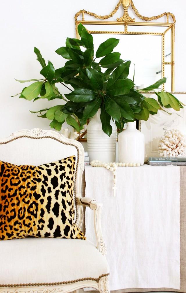 Vintage and leopard