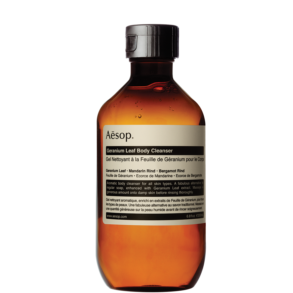 Aesop Geranium Leaf Body Cleaner